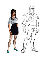 Lois Lane by Benjaminjuan