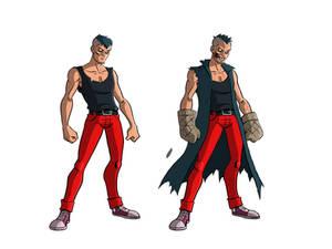 Mister Burns character design