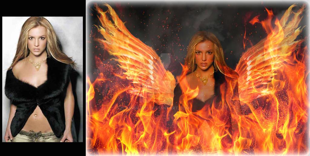 Photo manipulation (fire effect) by rahulit91