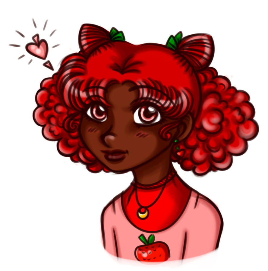 Strawberry Moon by elila