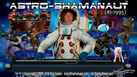 Astro-Shamanaut #1-1995 (Video Poster)