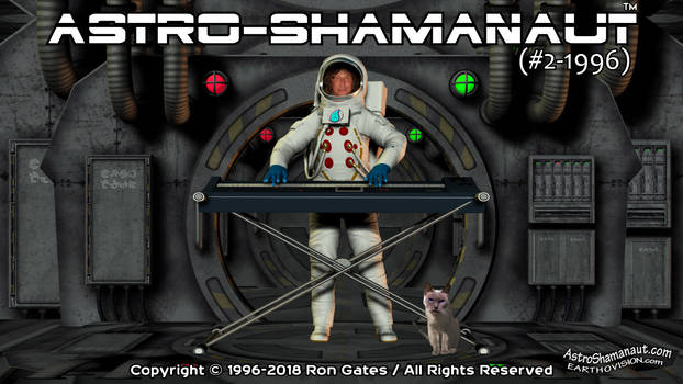 Astro-Shamanaut #2-1996 (Video Poster)