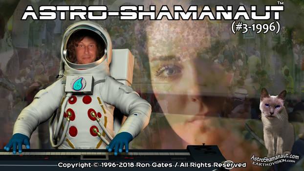 Astro-Shamanaut #3-1996 (Video Poster)