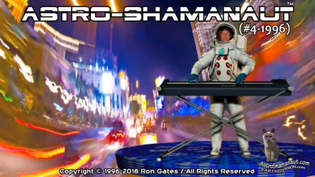 Astro-Shamanaut #4-1996 (Video Poster)