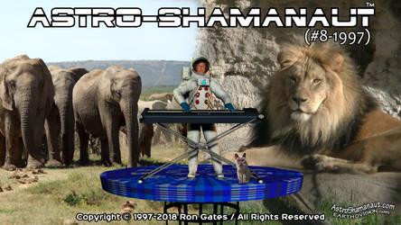 Astro-Shamanaut 08-1997 POSTER