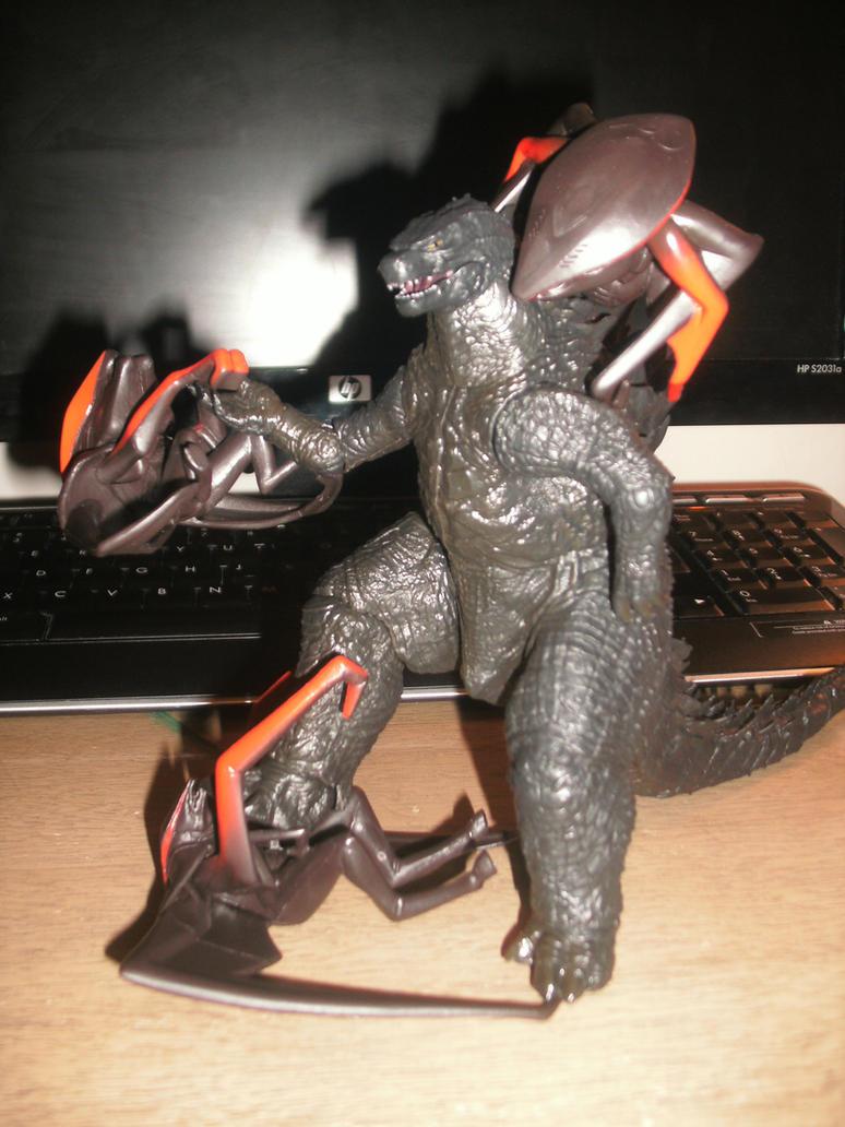 Toys - Gojir... Godzilla Vs Muto Toy