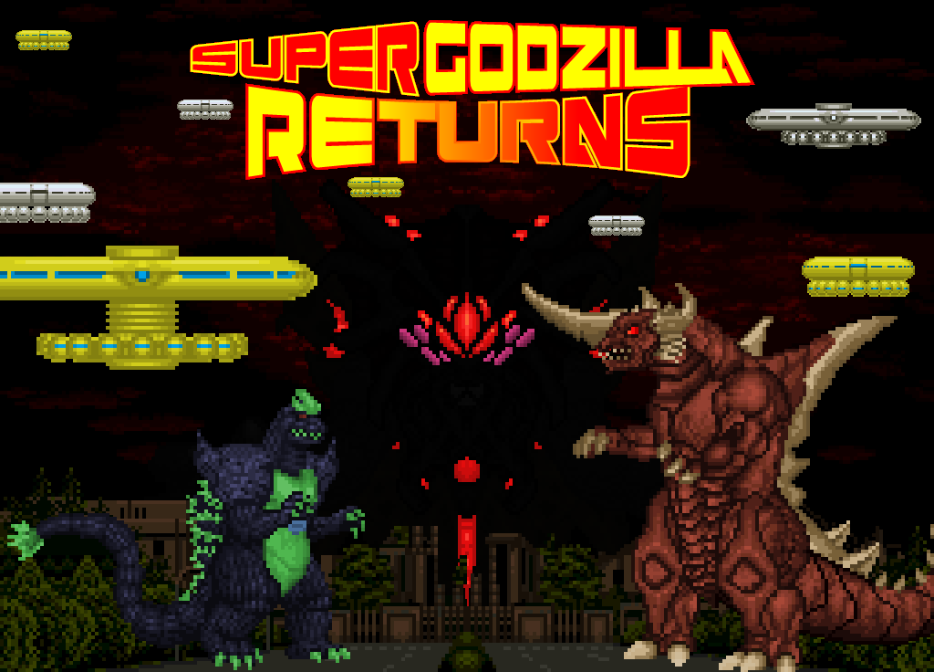 Super Godzilla Returns - Invasion by Burninggodzillalord