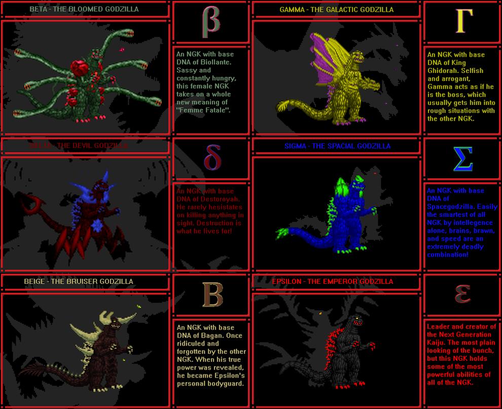 Neo Genesis Part 1 - NGK Cards by Burninggodzillalord