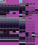 Super Godzilla Battle Backgrounds Sprite Sheet