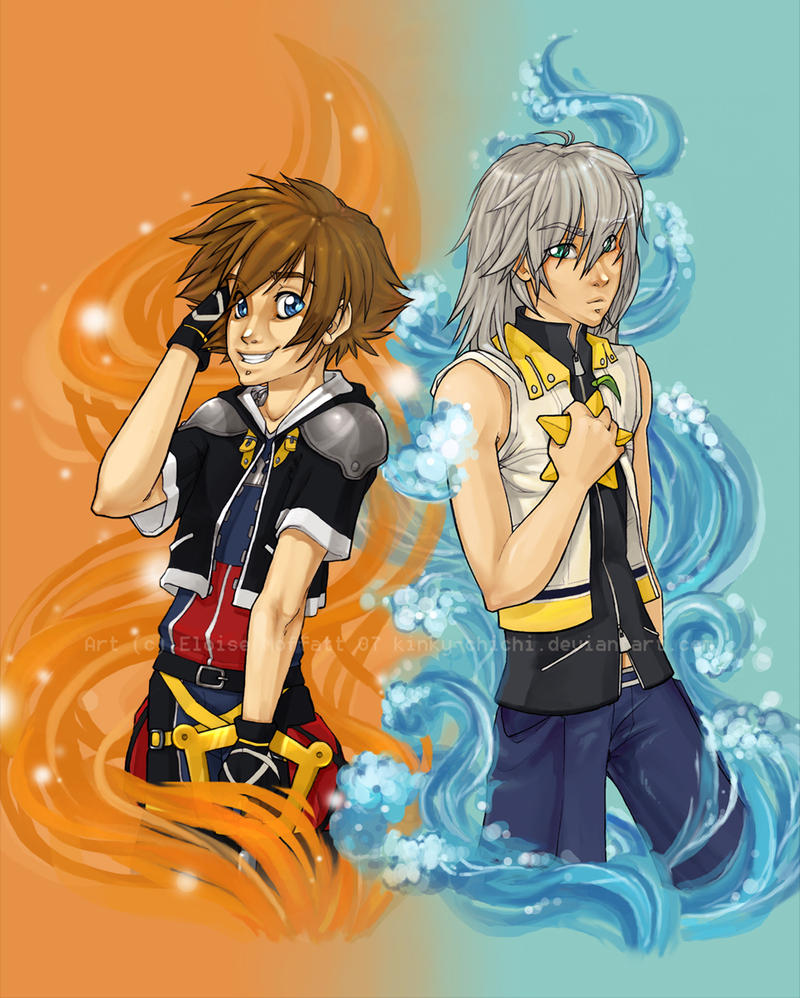 Sora And Riku By Kinky-chichi On DeviantArt