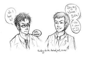 The Doctor and the Master by Kinky-chichi