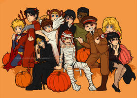 Happy South Park Halloween by Kinky-chichi
