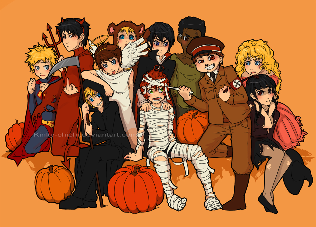 Happy South Park Halloween by Kinky-chichi on DeviantArt