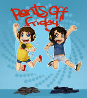 :Pants Off Friday: