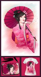 :Geisha: by Kinky-chichi