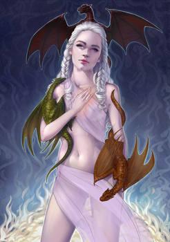 khaleesi Daenerys - WIP Critiques please.