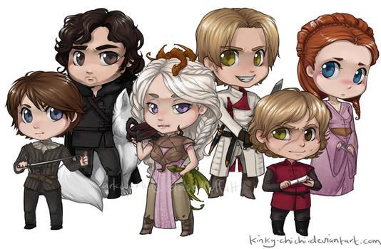 Game of Thrones Chibis
