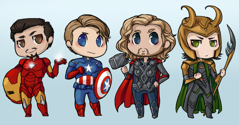 Avengers ...minus some by Kinky-chichi