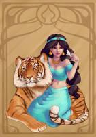 :Jasmine: by Kinky-chichi