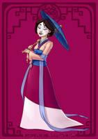 :Mulan: by Kinky-chichi
