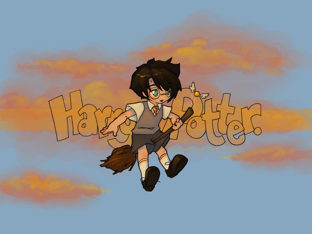 Good Wallpaper Harry Potter Animated - chibi_harry_wallpaper_by_kinky_chichi  Trends_3135.jpg
