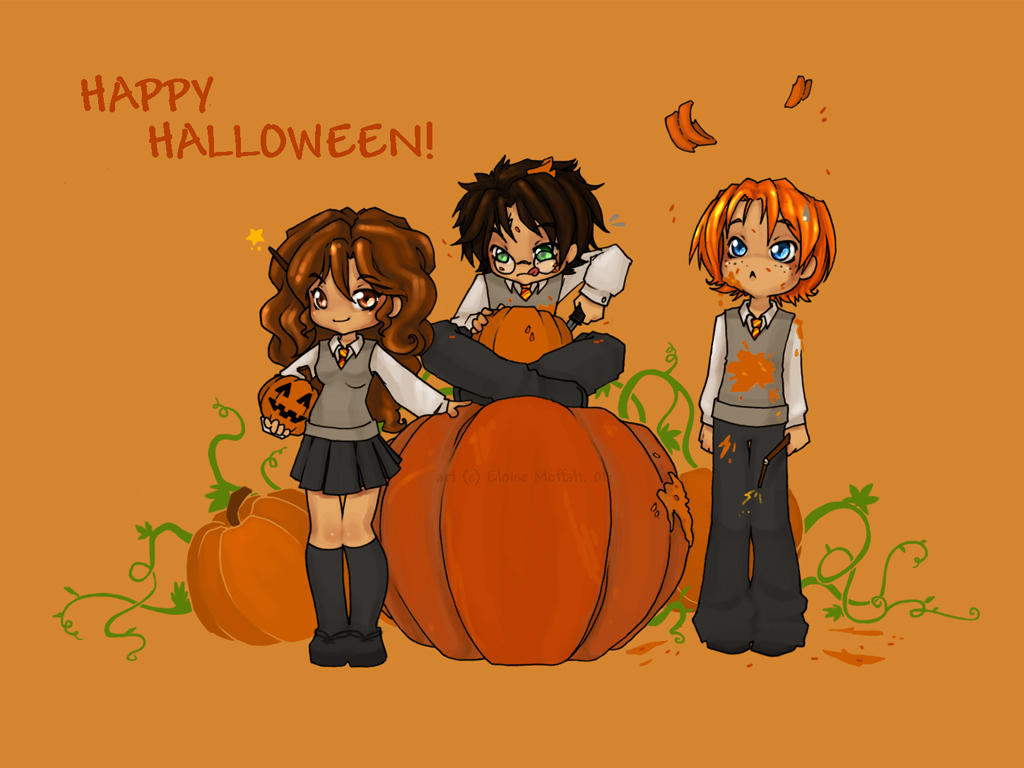 Happy HP Halloween. by Kinky-chichi