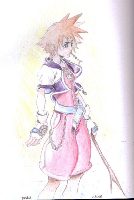 kingdom hearts sora by Chipmunk17