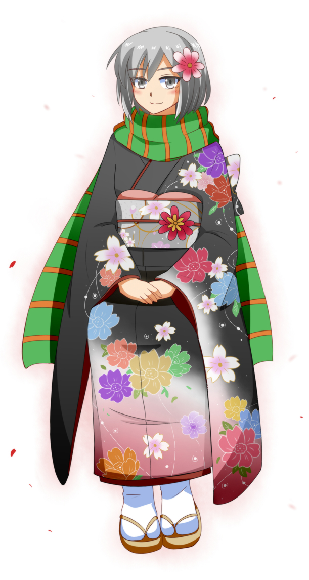 Traditional Outfit 01 - Kimono by bramhistory