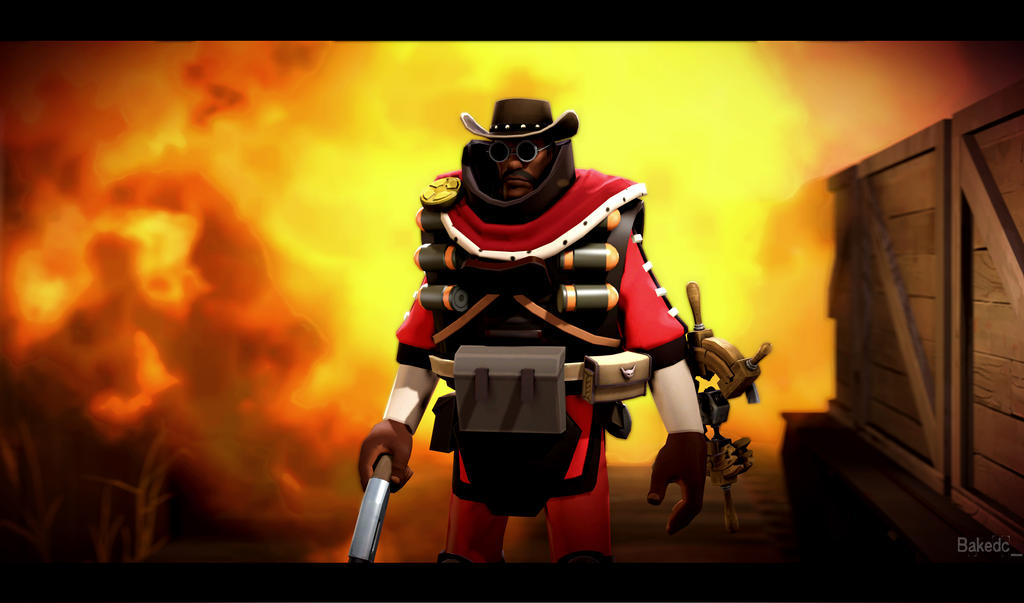 Cool guys don't look at explosions by The-Fnaf-OFF-TF2-Fan