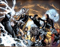 Xmen vs agents of atlas by elramos