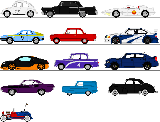Cars Sprites By Omega Steam On Deviantart