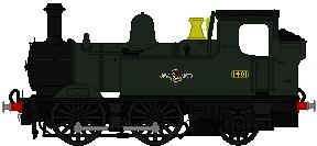GWR 14XX sprite No. 1401 by omega-steam