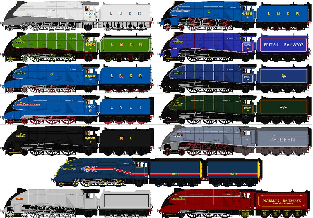 Great Northern Engines by SleeperAgent1 on DeviantArt