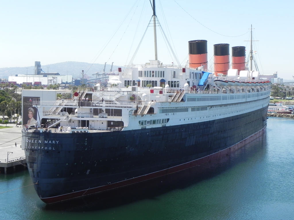 The Lovely Rms Queen Mary By Omega Steam On Deviantart