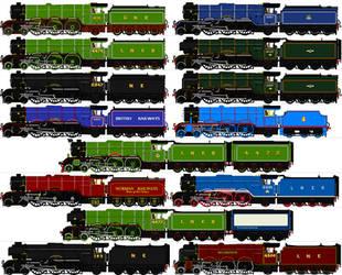LNER A1-A3 sprites by omega-steam