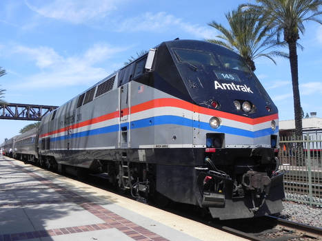 Amtrak No. 145 in Phase III