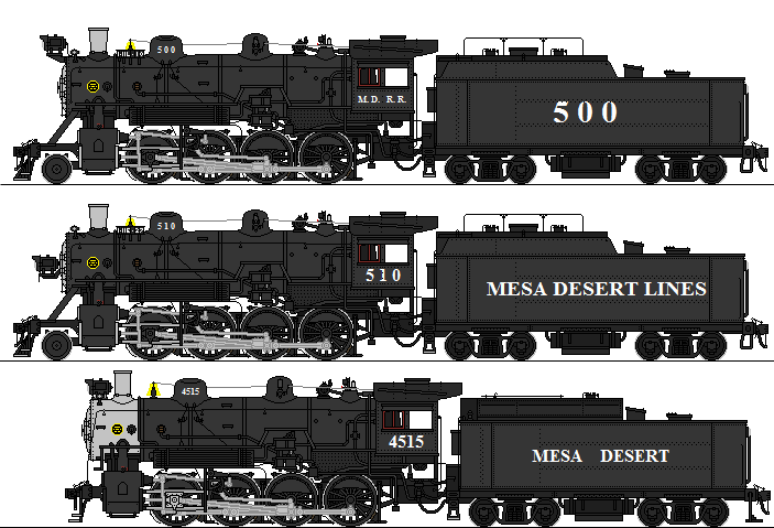 Mesa Desert 500 and 4500 Class by omega-steam