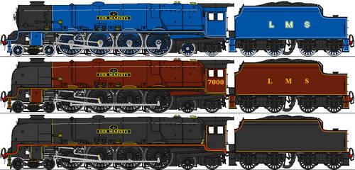 LMS 9P Queen Class