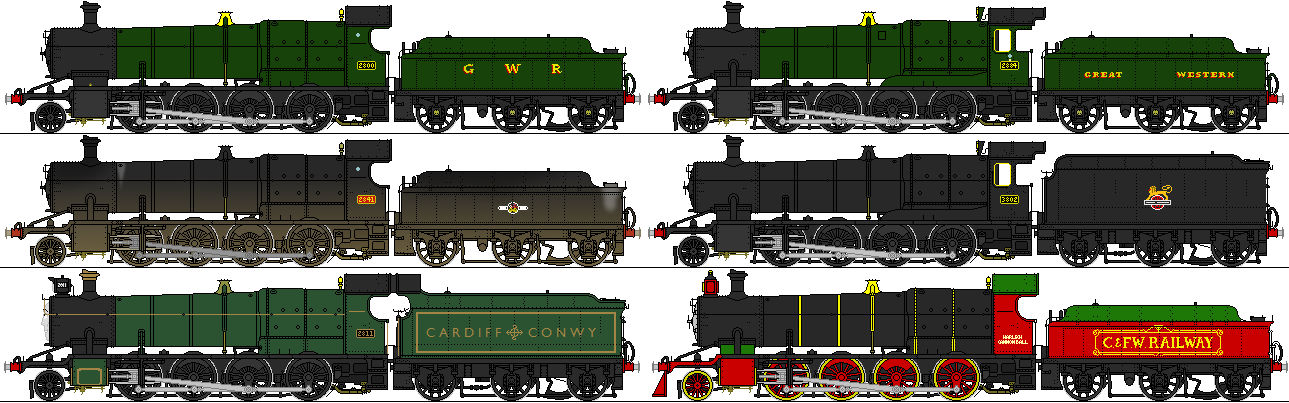GWR 28xx and 2884/38xx
