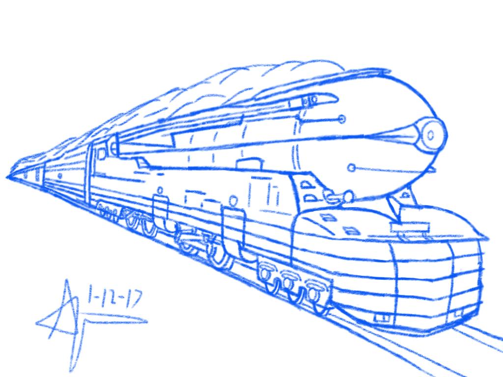 pennsylvania railroad s1 the big engine by omega steam on deviantart rh deviantart com