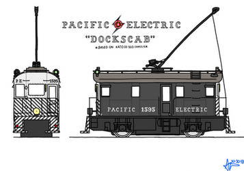 PE N scale Boxcab Concept, 'Dockscab' by omega-steam
