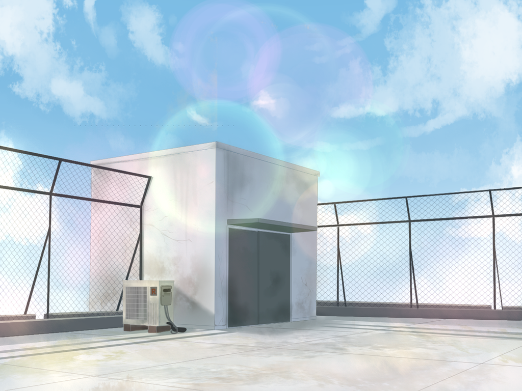 Vn Collab Background Rooftop By Raycchan On Deviantart