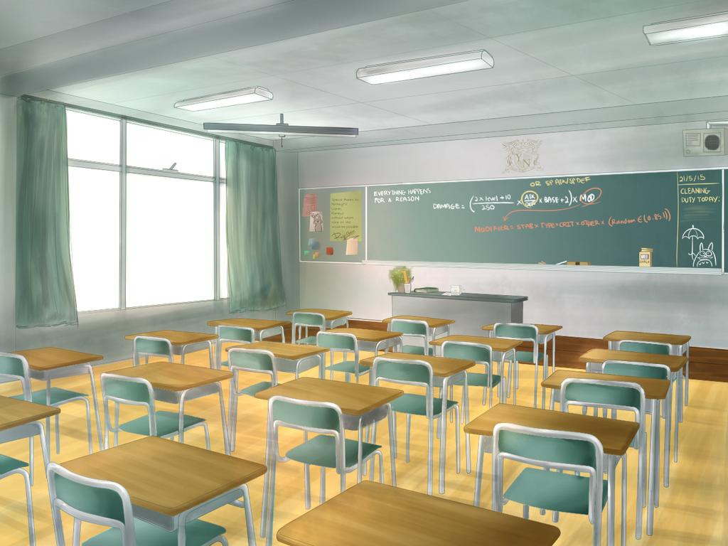 Z Classroom Design : Nuzlocke vn collab classroom by raycchan on deviantart