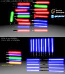 [DL] Star Wars enhanced lightsabers V2
