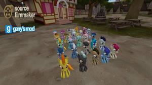 [DL] Background ponies (Foals version)