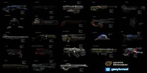 [DL] DOOM Weapons (Ragdolls)