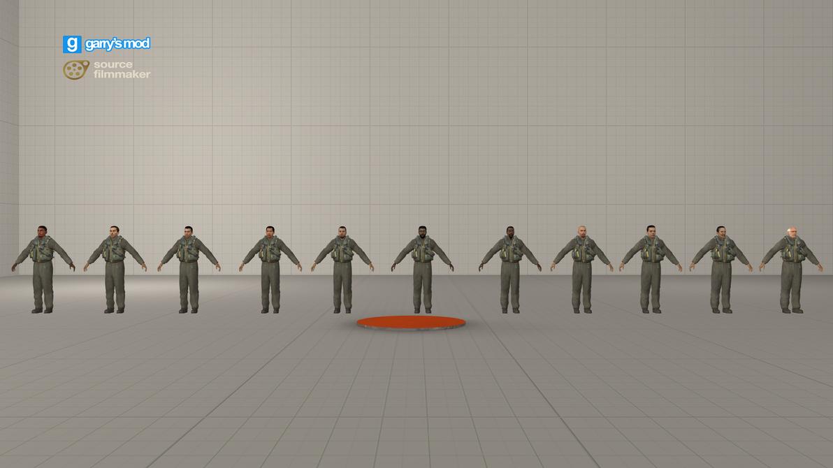 [DL] COD4 Pilots (Redux HL2 Citizens) by Stefano96