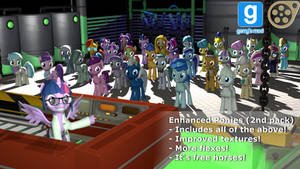 [DL] Enhanced Ponies 2nd pack by Stefano96