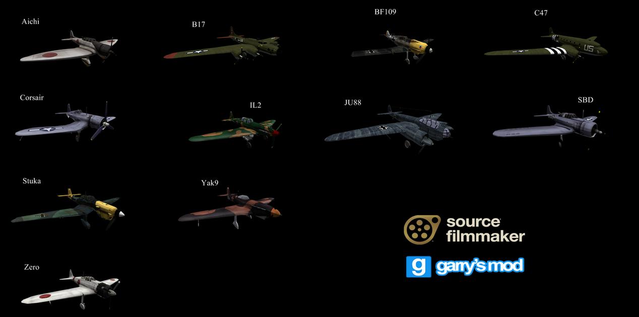 [DL] Battlefield 1942 Enhanced Planes by Stefano96