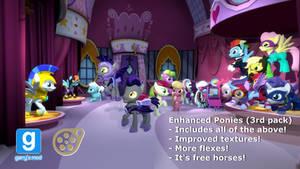 [DL] Enhanced Ponies 3rd pack